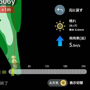 風向き表示画面